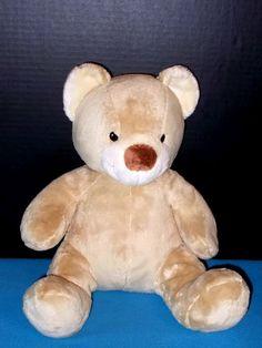 """Sweet Cream Cub Tan Teddy Bear Build A Bear 16"""" Stuffed Plush Retired Toy #BuildaBear #AllOccasion"""