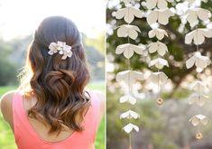Summer garden bridal shower ideas | photos by Love Janet  | 100 Layer Cake