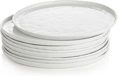 Everything tastes better on classic white dinnerware. I dream of these plates #CrateWeddingSweepstakes