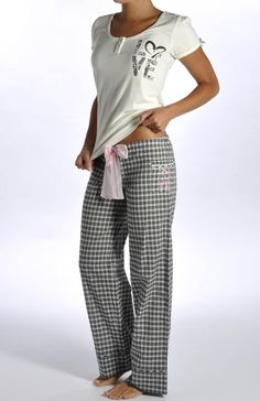 Love Graphic Jersey Pant Set