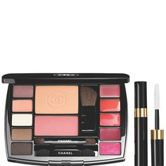 Shop for Travel Makeup Palette, Makeup Essentials With Travel Mascara by Chanel at ShopStyle. Eye Makeup, Flawless Makeup, Beauty Makeup, Make Up Kits, Make Up Palette, Sleek Palette, Chanel Makeup, Blush Makeup, Chanel Chanel