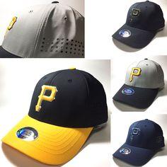 Men Unisex Pittsburgh Pirates P Logo Flexfit Baseball Cap Stretch Fit Punch Hats Adidas Cap, Pittsburgh Pirates, Baseball Caps, Major League, Caps Hats, Mlb, Unisex, Logos, Fitness