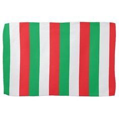 Green, white and red - Italian flag Hand Towel