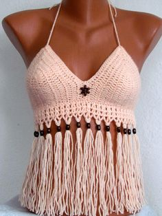Swimwear - Knitted swimsuit, sexy crochet bikini top m - a designer piece . Swimwear - Knitted swimsuit, sexy crochet bikini top m - a designer piece by Stricke-Art on DaWanda Record of Knitting W. Diy Crochet Bikini, Knitted Swimsuit, Crochet Bathing Suits, Crochet Bra, Crochet Summer Tops, Crochet Halter Tops, Crochet Crop Top, Crochet Woman, Crochet Clothes
