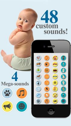 Picasound SoundBoard ($0.99) Forty-eight (48) professionally recorded sounds! Including four (4) special Mega-Sounds that last approximately 30 seconds each! Compatible with all iPhones (Including iPhone5!) running iOS 4 or newer (including iPod Touch)