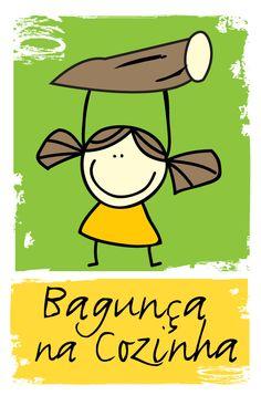 Logomarca Bagunça na Cozinha  Intituto Maniva