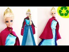 Manualidades: Cómo hacer una el vestido de coronación para Elsa de la película Frozen