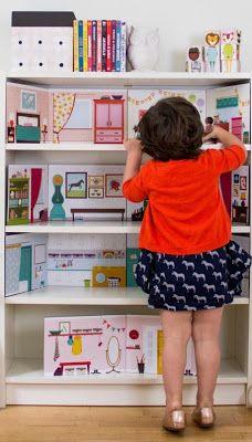 Tu Organizas.: Casa de bonecas, uma forma de organizar