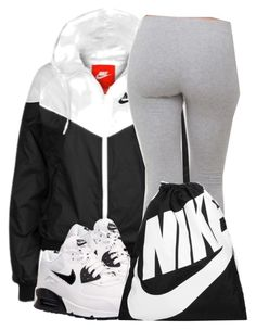 """Untitled #197"" by jaziscomplex ❤ liked on Polyvore featuring NIKE"