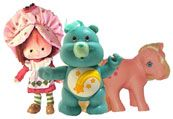 ahhh of course.. strawberry shortcake, carebears, my little ponies