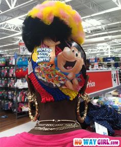 Really? A Fruity Pebbles Hairstyle