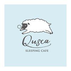 おひるねカフェ「クースカ」のロゴマーク
