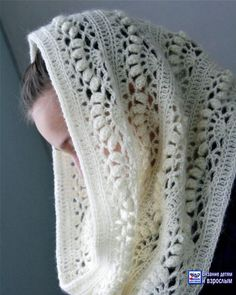 Lace Scarf Pattern Lace Shawl and Wrap Knitting Patterns for the Love Of Lace 8 Lovely Lace Knitting Patterns Lace Scarf Pattern . Shawls for Bulky Yarn Knitting Patterns Foldi Frost Flower Lace Shawl Free Machine Knitting Pattern. Crochet Diy, Bonnet Crochet, Mode Crochet, Crochet Crafts, Crochet Hooks, Crochet Projects, Crocheted Lace, Crochet Scarves, Crochet Shawl