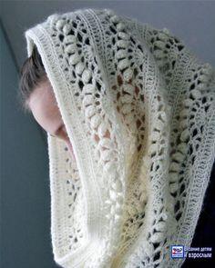 Lace Scarf Pattern Lace Shawl and Wrap Knitting Patterns for the Love Of Lace 8 Lovely Lace Knitting Patterns Lace Scarf Pattern . Shawls for Bulky Yarn Knitting Patterns Foldi Frost Flower Lace Shawl Free Machine Knitting Pattern. Mode Crochet, Crochet Diy, Crochet Crafts, Crochet Hooks, Crochet Projects, Crocheted Lace, Crochet Scarves, Crochet Shawl, Crochet Clothes