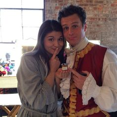 Groffsauce and Phillipa Soo