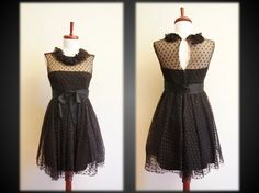 I love the dotted lace!