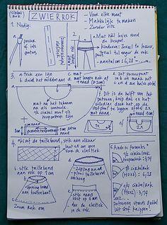 uitleg cirkelrok door Mme Zsazsa