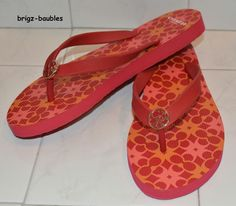 NIB Coach Alessa Sandal IN Red/Orange Sz 7 - SOLD!!!!  #Coach #Sandals #Casual
