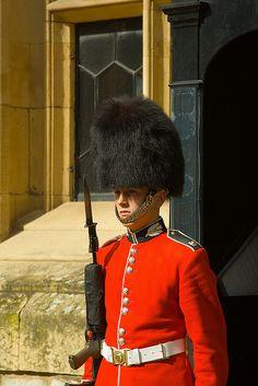 Londyn - królewski gwardzista / Queen's guard, London