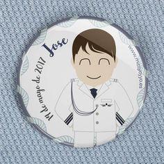 Chapa personalizada regalo de comunión marinera | Miniyó & Yo