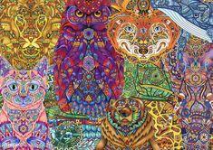 Mosaic Animal Coloring Pages Elegant Illustration Of Animal Adult Coloring Page Id Free Adult Coloring Pages, Animal Coloring Pages, Colouring Pages, Coloring Books, Mosaic Animals, Mode Shop, Free Illustrations, Animal Paintings, Free Image