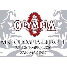 """""""Mr Olympia Europe San Marino 2-5 dicembre 2016. Il Mr Olympia arriva in Italia! #mrolympiaeurope #sanmarino Facebook/YouTube: Ticinosthetics ️TICINOSTHETICS: la tua fonte per bodybuilding e benessere @ticinosthetics #ticinosthetics  http://ticinosthetics.jimdo.com #fitnessitalia #bodybuildingitalia #fitnessticino #bodybuildingticino #italia #ticino #fitness #bodybuilding #motivazione #naturalbodybuilding #aestheticfitness #aestheticsfitness #shrdd #gymaesthetics #physique #palestra…"""