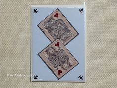 Handcrafted Birthday Greeting Card Card for a by HMKreations