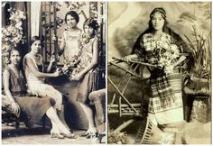 Pictures of some young people 100 years ago (from the Philippines)