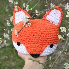 fox, doorstopper, mjukstore, etsy, animal head, crochet #mjukstore #etsy #unseretsy #doorstopper #animalhead #decoration #homemade #home #interior #fox #kids #kidsroom #design #homedeco #style #trend #cute #mummy #parents #family #textiledesign #crochet