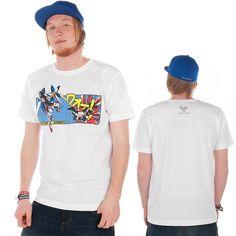 Terratag Whaam T-Shirt White