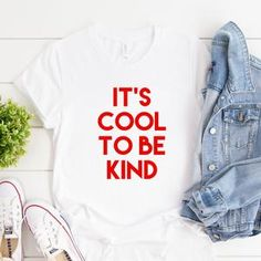 It's Cool To Be Kind Tee. Kindness Matters. Kindness   Etsy