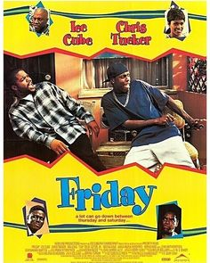 Happy Friday!  I can't tell you how many times I've seen this film but it makes me laugh every time.  Tell me you've seen it?