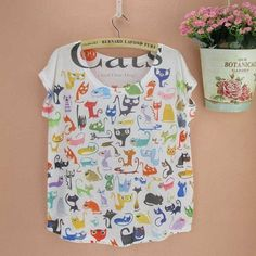 print Tee shirt original designer women's tops short-sleeved t-shirt ladies