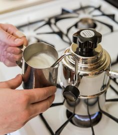 Bellman Stovetop Steamer | Milk doodles for days  #breweverywhere