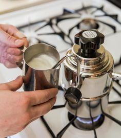 Bellman Stovetop Steamer | Milk doodles for days #breweverywhere
