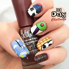 mdnailart toy story #nail #nails #nailart