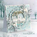 handgemachte weihnachtsskarte