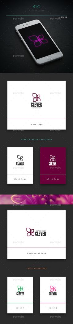 Clever Logo Design Template Vector #logotype Download it here: http://graphicriver.net/item/clever/13930321?s_rank=307?ref=nexion