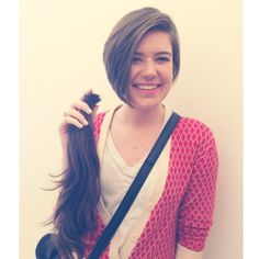 Another Locks of Love donation! What a doll! hair | Terez Autrand #hivenaturalbeautycollective hivebeauty.com