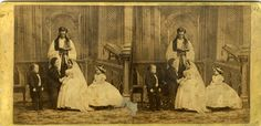 The wedding of Charles S. Stratton and Lavinia Warren Bump.