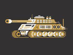 Weapons of Mass Creation #illustration #inspiration #design