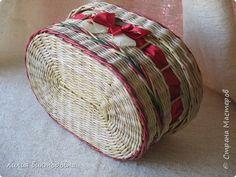 Поделка изделие Плетение Осенние плетенки Трубочки бумажные фото 6