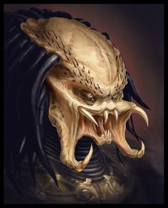 Predator. Seriously, why did it take me this long to find a suitable picture of one?