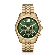 e7fe5594370e0c Michael Kors Mens Lexington GoldTone Watch MK8446 ** Find out more about  the great product