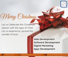 #Christmas is about spending time with #family and friends. It's about creating #happymemories that will last a lifetime. #MerryChristmas to you and your family!   #SamaritanInfoTech is the #WebDevelopment, Website Design, #DigitalMarketing (SEO, SMO, PPC) Company in #Indore India. see more on.. www.samaritaninfotech.com — in Indore, India. Website Development Company, Design Development, Software Development, Indore, Social Media Marketing Agency, Digital Marketing, Best Seo Services, Apps, Branding Agency