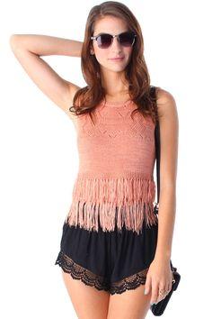 Kate Fringe Top   Markkit.com #festivalstyle #coachella #style #festival #summer #spring #ootd
