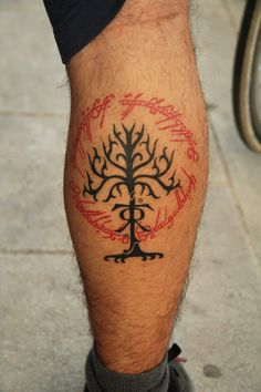 lord of the rings tattoos | Lord of the rings tattoo by kirtatas on deviantART