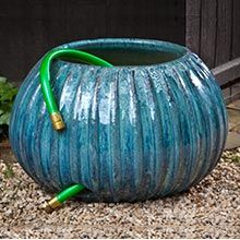 Gresham Ribbed Glazed Hose Pot 150852-1601