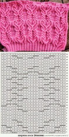 Kira knitting: Knitted pattern no. 75
