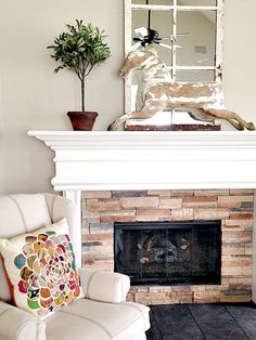 Decorating takes time & heart | Holly Mathis Interiors Walls throughout downstairs are BM Revere Pewter!